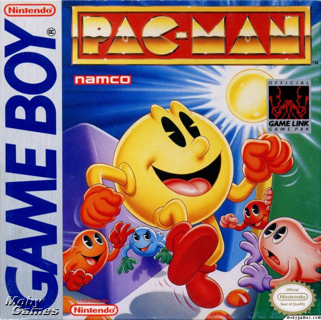 Pacman gameboy game
