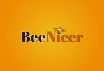 Bee Nicer - Logo for domain name BeeNicer.com