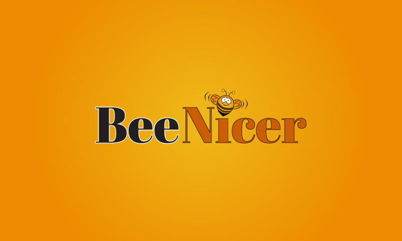 Bee Nicer - Logo for domain name BeeNicer.com