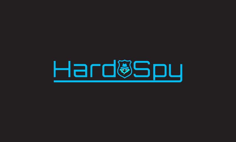 Hard Spy - Domain Name Logo for a Brand